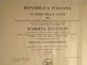 Diploma di laurea